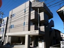 金沢市内マンション 外壁塗装面バイオクリーニング施工